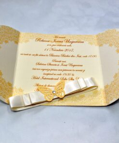 Invitatie botez Butterfly
