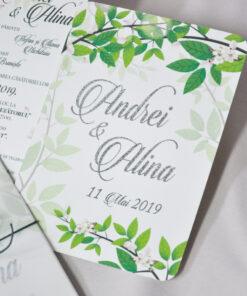 Invitatie folio Natura