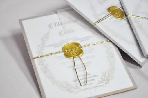 Invitatie de nunta Olimp