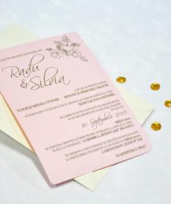 Invitatie de Nunta Silvia