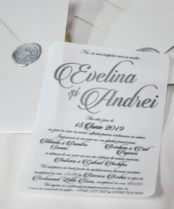 Invitatie Nunta Eveline