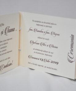 Invitatie Nunta Ioana