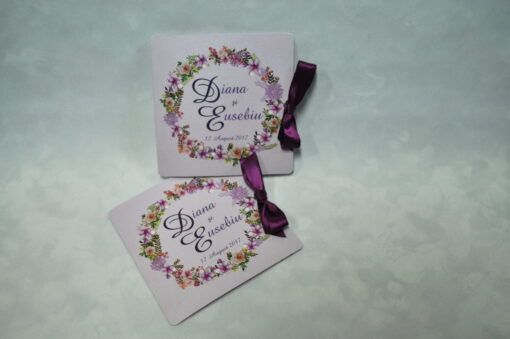 Invitatie Flowers