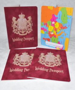 Invitatie Nunta Passport