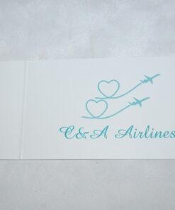 Invitatie Nunta Airlines