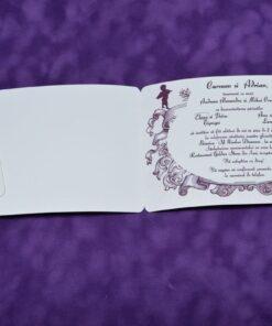 Invitatie nunta C&A