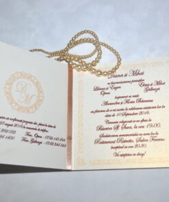 Invitatie Nunta Corazones