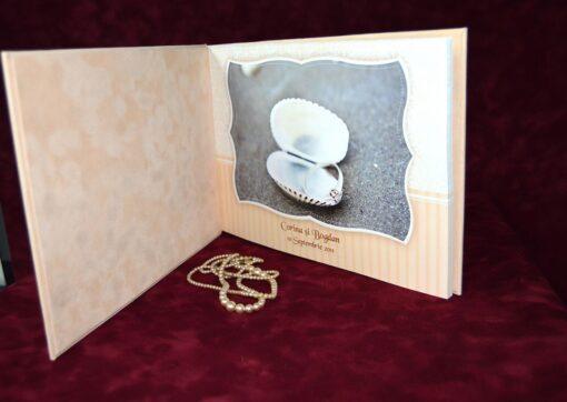Invitatie Nunta Cream
