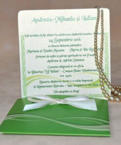 Invitatie Nunta Infinity