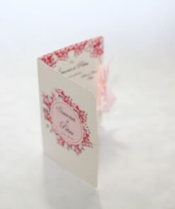 Invitație nuntă Happy Pink