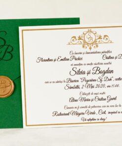 Invitatie Nunta Simply Elegant