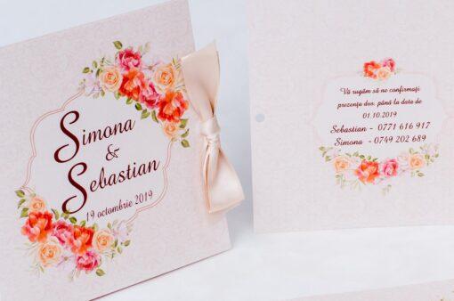 Invitatie Nunta Somon Style