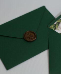 Invitație de nuntă Special Leaf