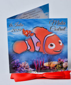 Invitatie Invitatie botez Nemo