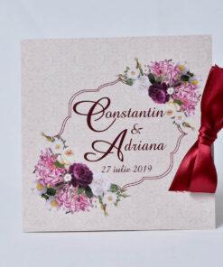 Invitatie nunta Bujor