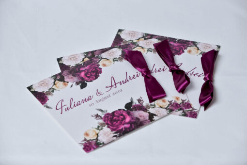 Invitatie nunta Flowers & Aroma