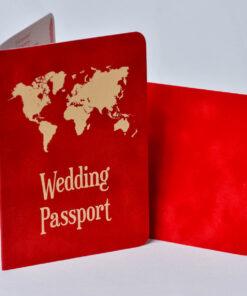 Invitatie nunta Passport 2