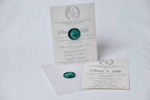 Invitatie nunta Love inspiration