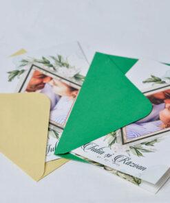 Invitatie nunta Love and leaf