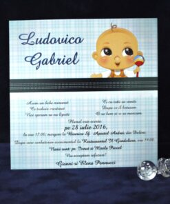 Invitatie Botez Jucarie