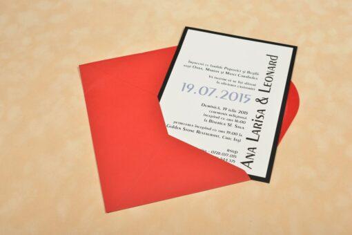 Invitatie Nunta Leonard