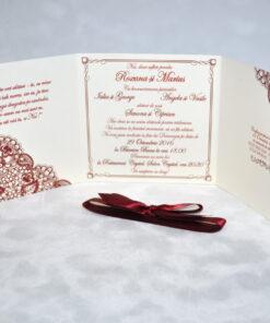 Invitatie Nunta Oblique