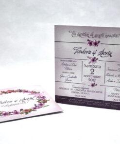 Invitatie Nunta Ombre