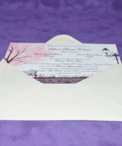 Invitatie Nunta Pink Tree