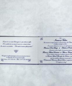 Invitatie Nunta Purpuriu