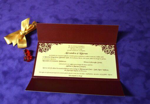 Invitatie nunta Symmetry