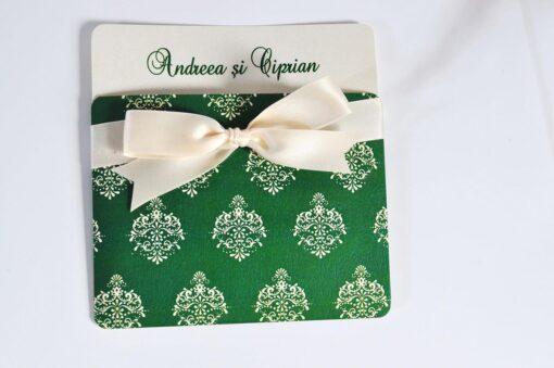 Invitatie Nunta Tiny Green