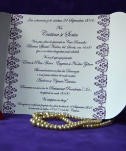Invitatie Nunta Tribal
